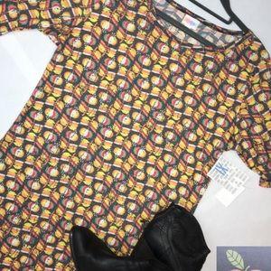 LuLaRoe Floral Julia Pencil Dress - NWT